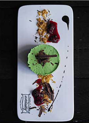 Stranger's Poetry - Matcha Cheesecake